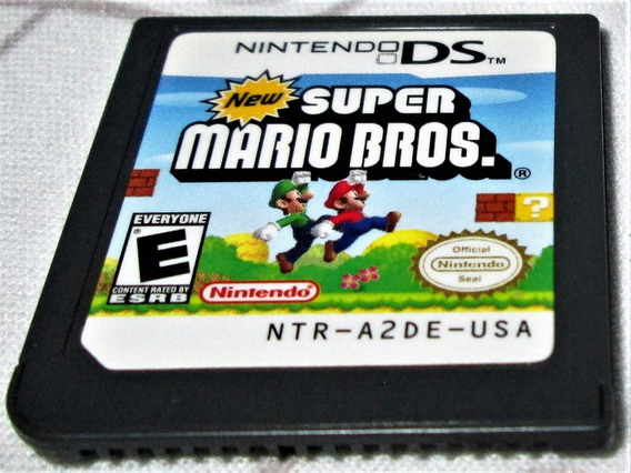 New Super Mario Bros. Ds! Genuíno Nintendo! Nintendo Ds! 3ds