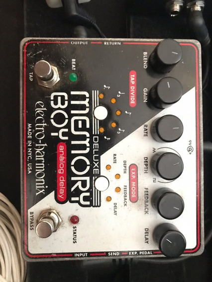 Pedal Ehx Memory Boy Deluxe