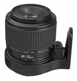 Lente Canon Mp-e 65mm F/2.8 1-5x Macro Photo