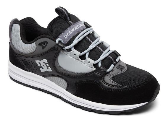 Zapatillas Dc Shoes Mod Kalis Lite Negro Gris! Coleccion 19