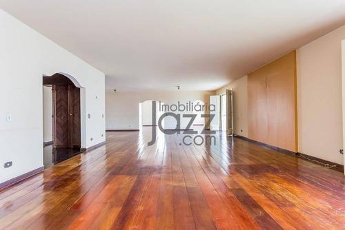 Magnífico Apartamento Com 04 Dormitórios Em Higienópolis - Sp - Ap5864