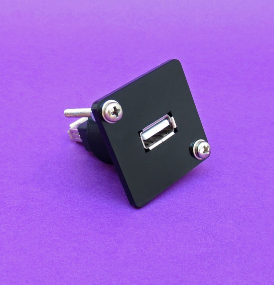 Plug Conector Batrik Usb Semelhante Ao Neutrik Acrílico