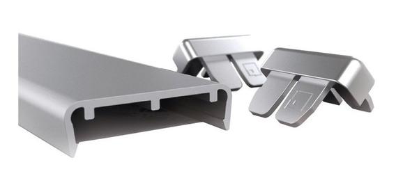 Tapacanto Aluminio 3mts Euro 15 Mm Muebles Madera Grupo Euro