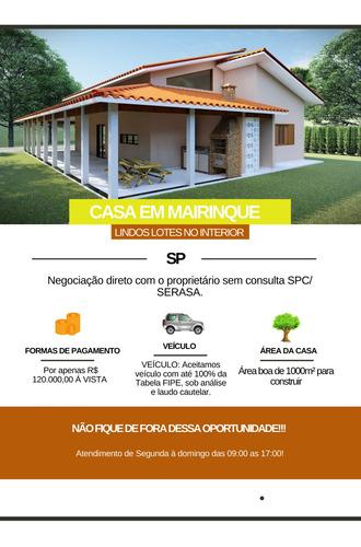 Imagem 1 de 14 de Vende-se Essa Casa Em Mairinque De 1000² - Sp