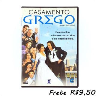 Casamento Grego - Dvd Original Filme C/ Extras - Novíssimo