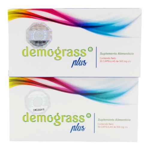 Demograss Plus 30 Capsulas De 500mg C/u (2 Cajas) Envio Hoy