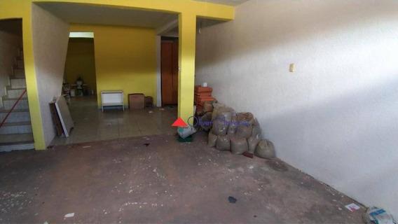 Sobrado Com 2 Dormitórios Para Alugar, 150 M² Por R$ 1.500,00/mês - Padroeira - Osasco/sp - So2244