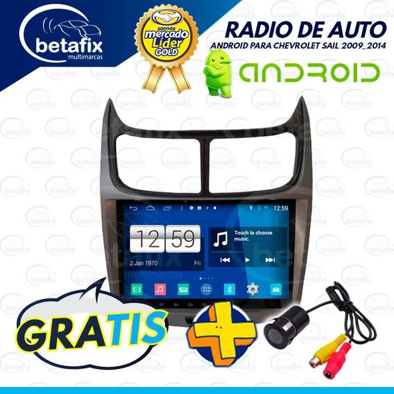 Radio Android Chevrolet Sail 2019 4gps Wifi 2usb Betafix Ec