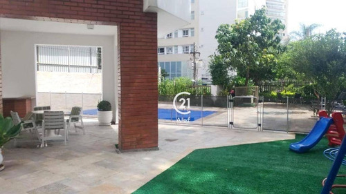 Apartamento Com 4 Dormitórios À Venda, 275 M² Por R$ 2.290.000,00 - Pacaembu - São Paulo/sp - Ap2869