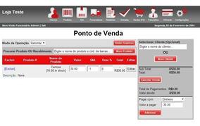 Sistema Controle De Vendas Instalado E Hospedado Por 1 Ano!