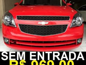 Chevrolet Agile Ltz 1.4 Único Dono 2013 Vermelho