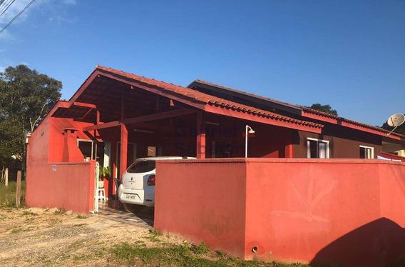 Ótima Casa No Baln Brasília Prox Ao Centro - Itapoá/sc - Ca0024