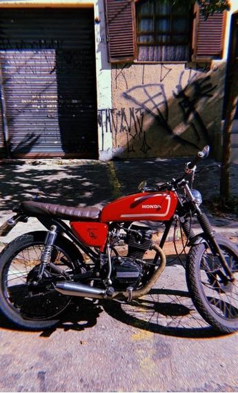 Honda Cg Bolinha 1982
