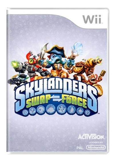 Skylanders Swap Force Wii Mídia Fìsica Usado