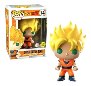 Figura Funko Pop Dragon Ball Z - Super Saiyan Goku Glow