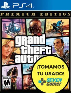 Gta V Premium Edition Ps4 Juego Fisico Sellado Sevengamer