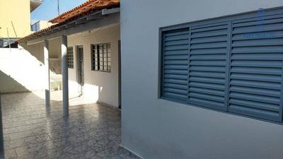Casa Com 1 Dormitório Para Alugar, 70 M² Por R$ 1.000/mês - Centro - Paulínia/sp - Ca1374