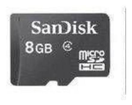 Cartão De Memória San Disk 8gb Semi Novo Novo