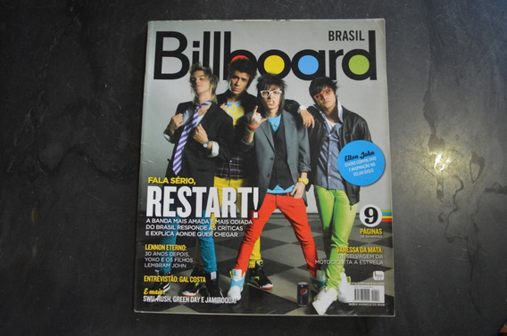 Billboard 14 Restart Revista