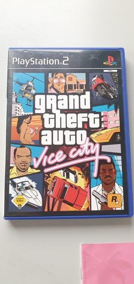 Gta Vice City   Original   Raro   Ps2   Europeu Pal
