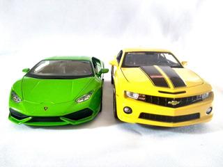 Kit Lamborghini Huracan Verde + Camaro Ss Rs 2010 1:24