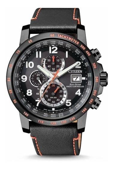 Relógio Masculino Citizen At8125-05e Couro