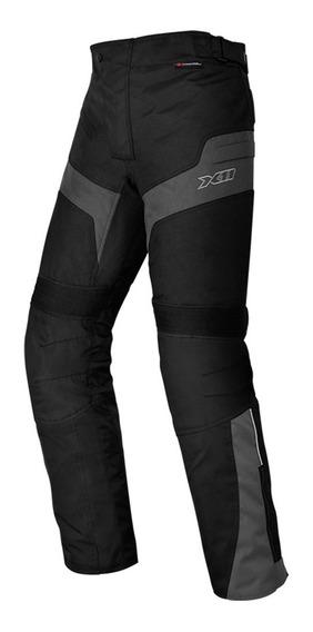 Calça X11 Ultra 2 Impermeavel Preta Moto Proteção Ajustável