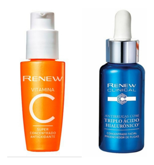 Renew Avon Vitamina C + Ácido Hialurônico