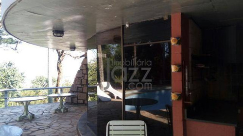 Chácara Com 4 Dormitórios À Venda, 40000 M² Por R$ 1.800.000,00 - Chácara Alpina  - Valinhos/sp - Ch0184