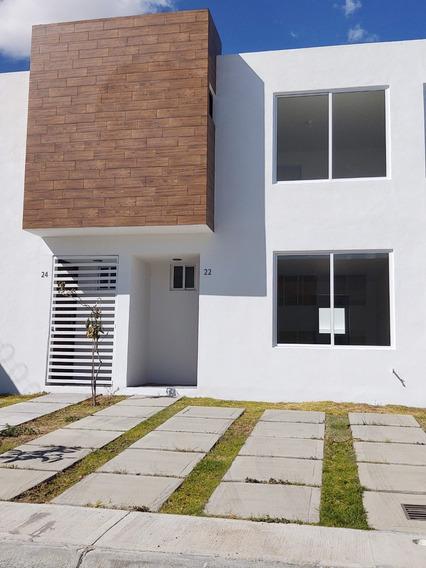 Casa Renta Nueva! En Puebla Cerca De Audi, Periferico