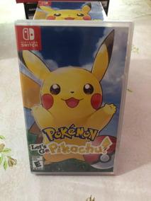 Jogo Pokémon Lets Go Pikachu Novo Lacrado Mídia Física