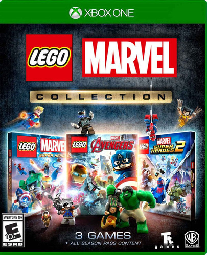 Imagen 1 de 5 de Lego Marvel Collection Xbox One Juego Fisico