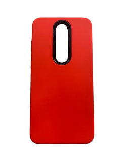 Funda Fibra Carbono Nokia 3.1 Plus / 5.1 Plus + Templado