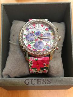 Reloj Guess Nuevo ! Con Caja Completo Mujer