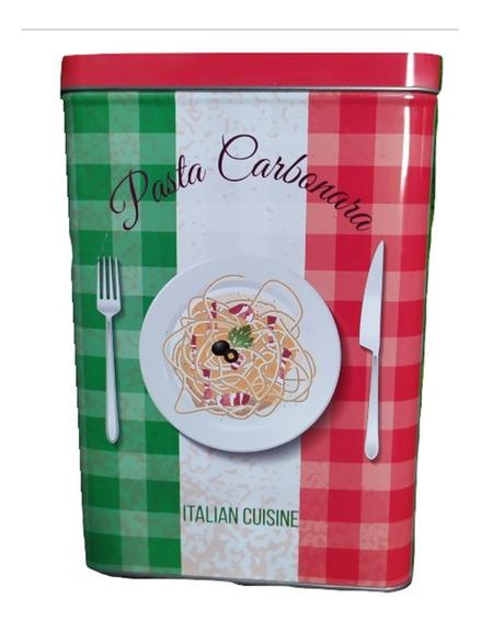 Lata Para Almacenar Pasta, Italy