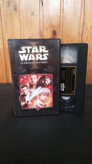 Pelicula Star Wars I: La Amenaza Fantasma Vhs Los Germanes