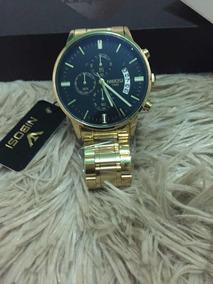 Relógio Nobodies Dourado De Luxo Super Promoção!!!!