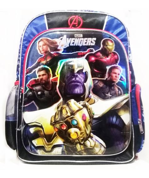 Mochila Avengers 3d Marvel Infinity Endgame Thanos Puño