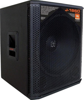 Bafle Jbl Selenium Series J-1860 Woofer 18 2400 W