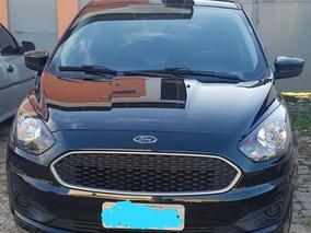 Ford Ka 2019 Preto Perolizado Ipva Pago E Seguro Pago.