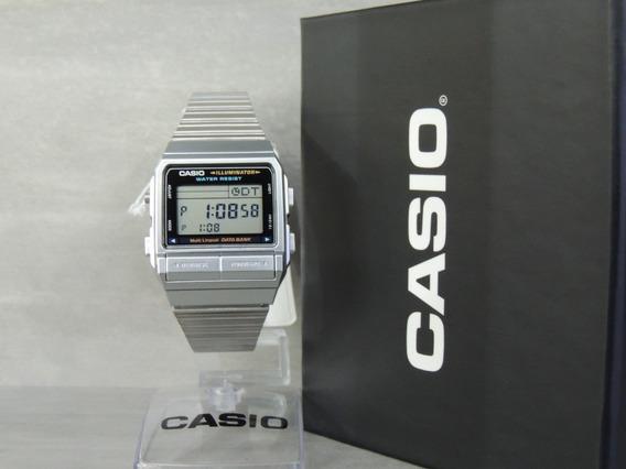 Relógio Casio Vintage Db-380-1df Telememo - Nf - Envios Full