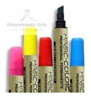 Canetas Magic Color 24 Cores+ Brinde - 20% Off
