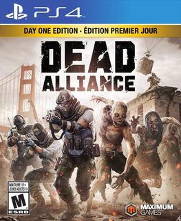 Dead Alliance : Day One Edition - Ps4 Fisico Sellado