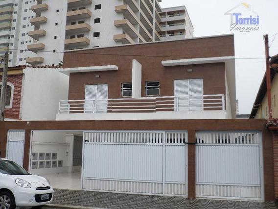 Casa De Condomínio Em Praia Grande, 02 Dormitórios Sendo 01 Suíte,01 Vaga Na Guilhermina Ca0012 - Ca0012