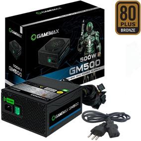 Fonte 500w Reais Atx P/ Gabinete Pc Cpu Gamer 80 Plus Bronze