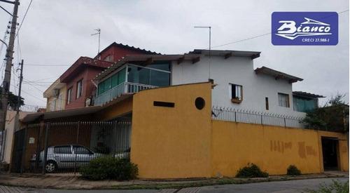 Imagem 1 de 16 de Sobrado Com 2 Dormitórios À Venda, 180 M² Por R$ 600.000 - Jardim Santa Clara - Guarulhos/sp - So1709