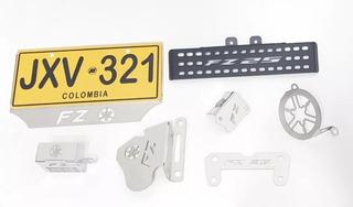 Lujos Fz25 Kit Fz25 Lujos Porta Placa Fz25 Caliper Fz25 Lujo