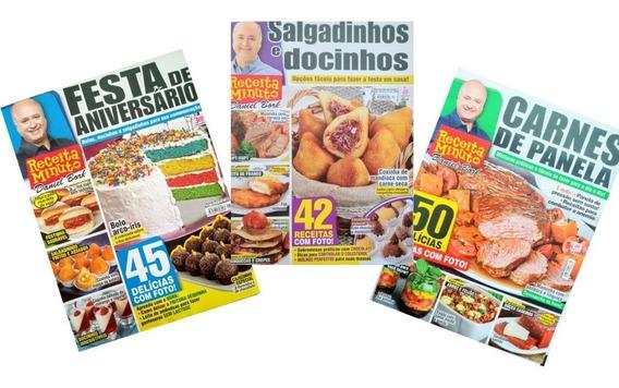 3 Revistas Receita Daniel Bork, Culinária