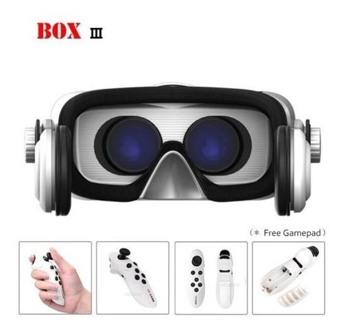 Gafas De Realidad Virtual 3d Vr Auriculares + Control Remoto