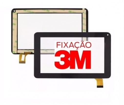 Tela Touch Tablet Tectoy Wind Tt2725 Tt 2725 Preto